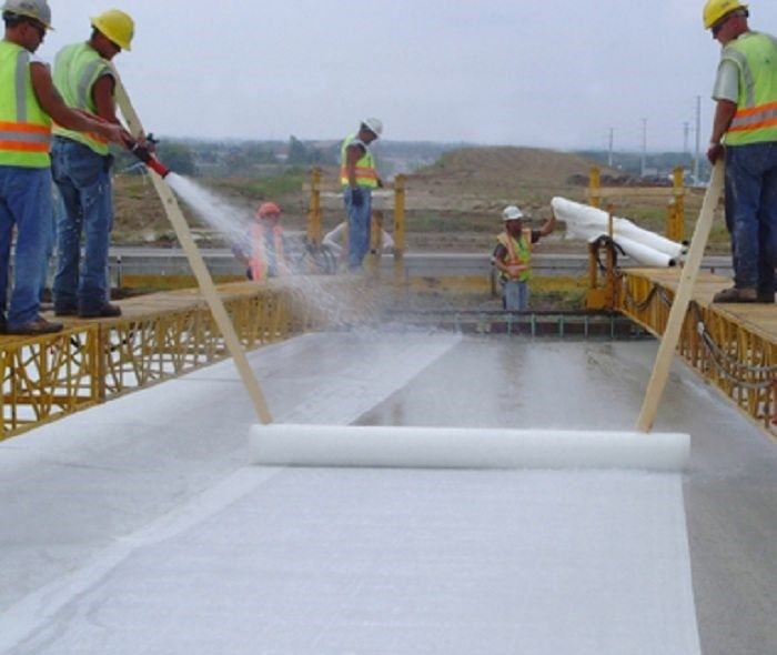 Curing and Placing of fair faced concrete