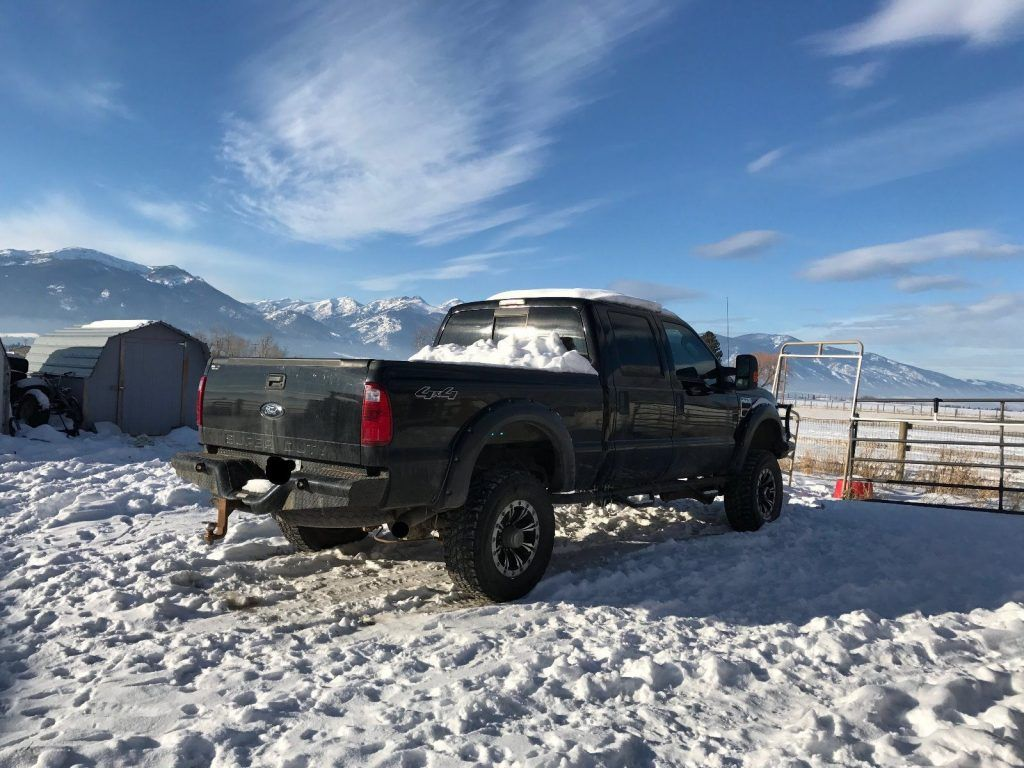 2008 Ford F-350 XLT (not only for snow)
