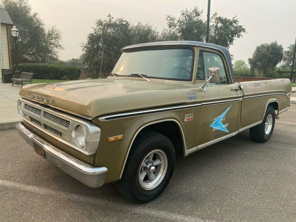 1970 Dodge D100 383 V8 Mopar