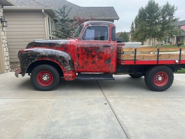 1948 Chevy 1/2 Ton Pickup Truck with nice flat bed and side rails