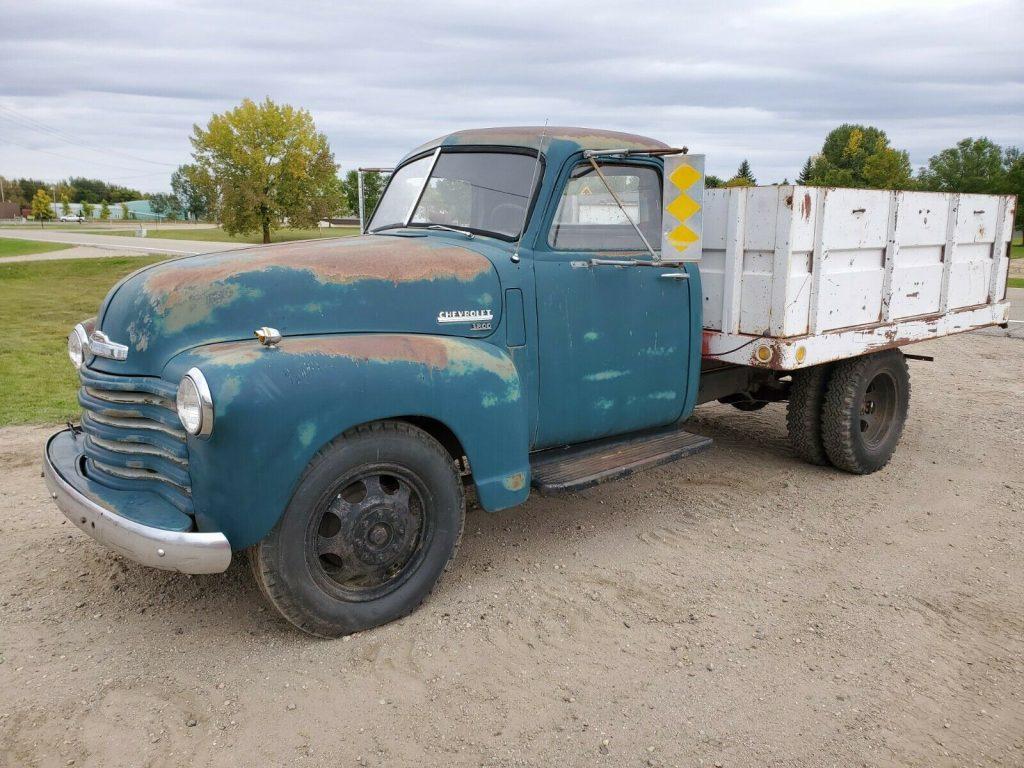 1949 Chevy 3800 North Dakota farm truck