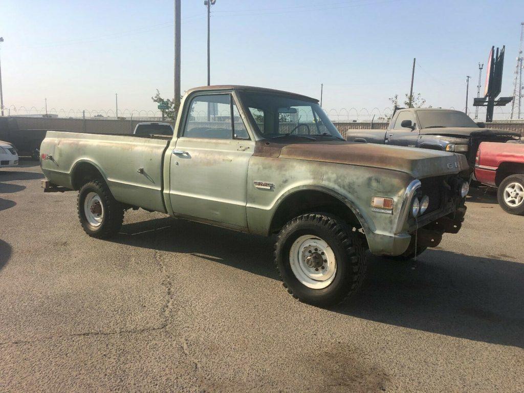 1970 GMC K2500 4×4 3/4 ton K20 Longbed