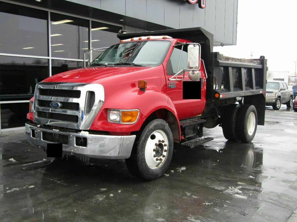 2005 Ford F-650 Super Duty Dump Truck [with 23103 Miles]