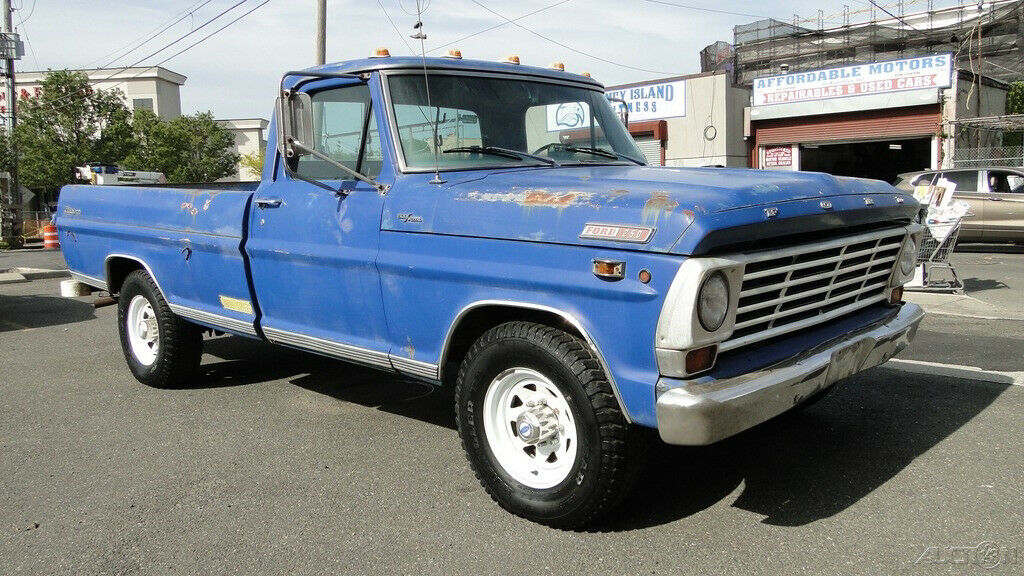 1968 Ford Ranger 250 V8, Used Classic Pick up truck