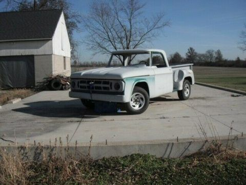 1968 Dodge D100 with Utiline body style project truck for sale