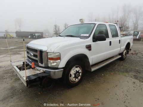 2008 Ford F-350 Super Duty 4WD Crewcab Pickup Truck for Parts/Reprair for sale