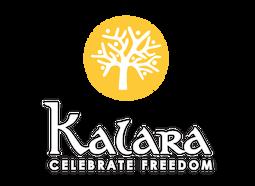 Kalara logo branding Home page
