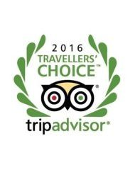 Trip Advisor traveller's choice award 2016