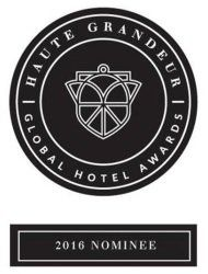 Haute Grandeur Global Hotel Award 2016