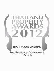 Thailand Property Awards 2012 Best Residential Development Koh Samui LANNA – Highly Commended
