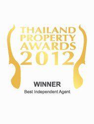Thailand property awards 2012 best independent agent Thailand Kalara – Winner