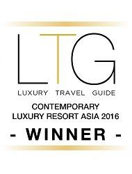 2016 Luxury Travel Guide Awards Winner