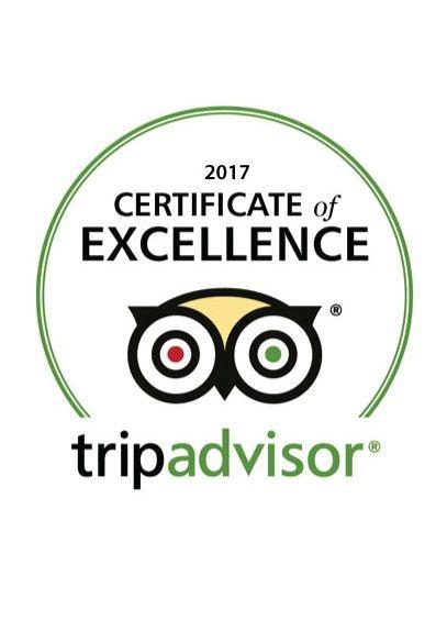 Tripadvisor Certificate of Excellence Award 2017 LANNA