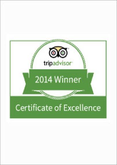 Tripadvisor Certificate of Excellence Award 2014 LANNA