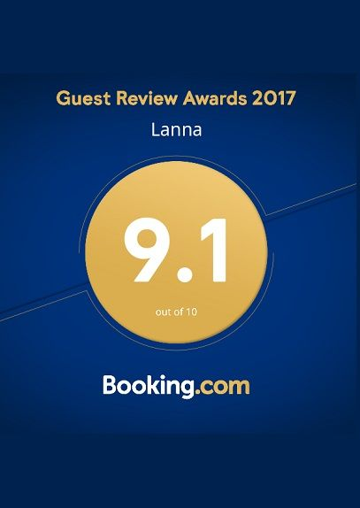 Booking Dot Com Guests Review Awards 2017 LANNA