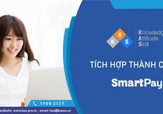 Kas tích hợp với đơn vị thanh toán online SmartPay thành công