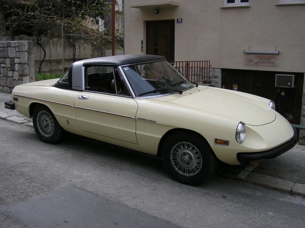 1979 Alfa Romeo Spider