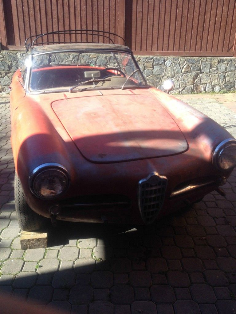 1960 Alfa Romeo Giulietta veloce