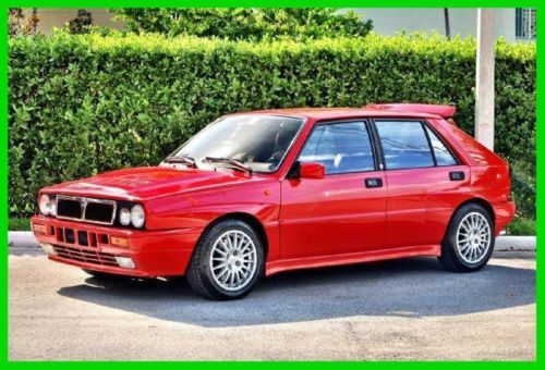 1989 Lancia Italian Import HF Delta Integrale ALL ORIGINAL!