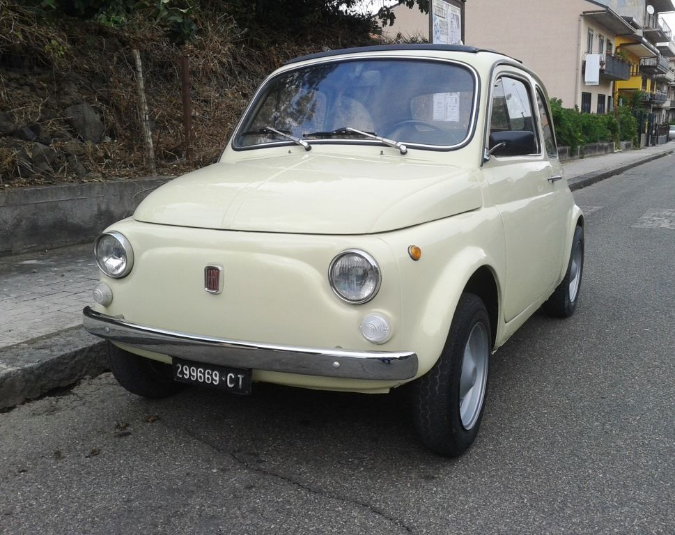 1972 Fiat 500 Model 110F