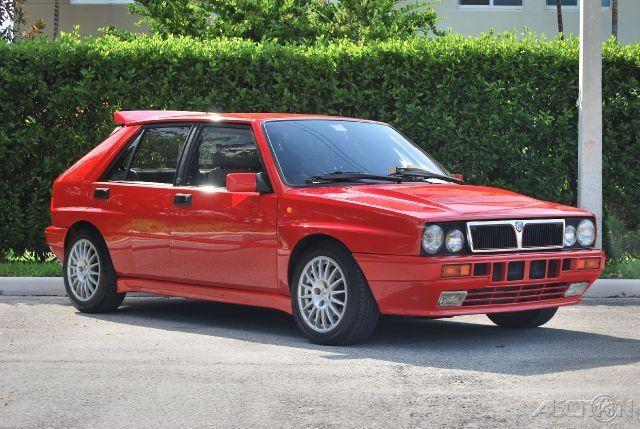 1989 Lancia Italian Import HF Delta Integrale