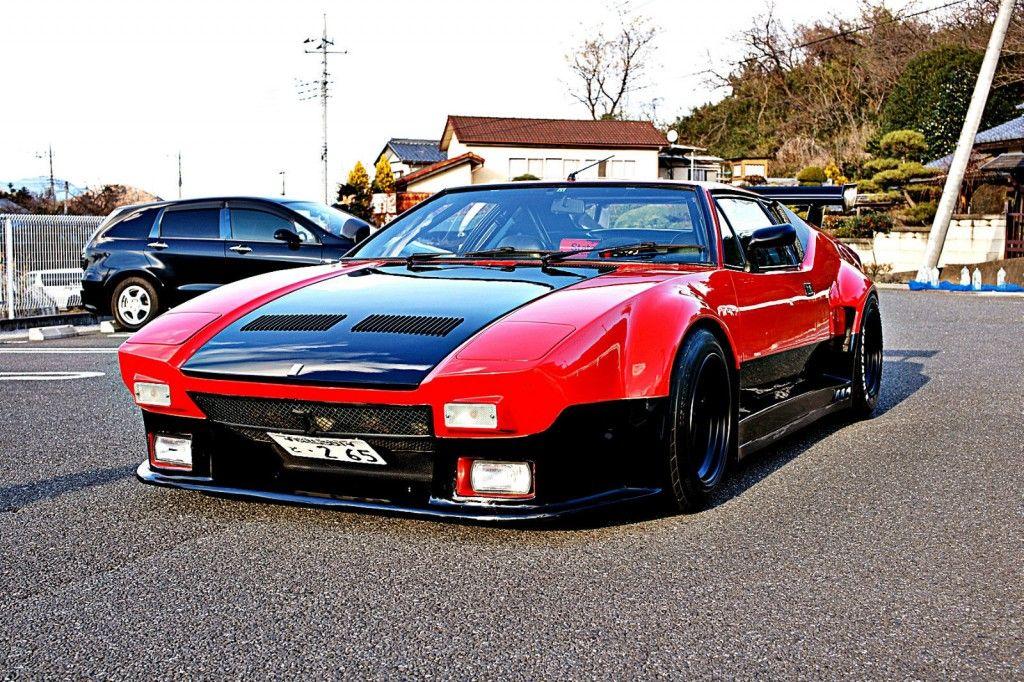 1972 De Tomaso Pantera GT 5 Competizione tribute