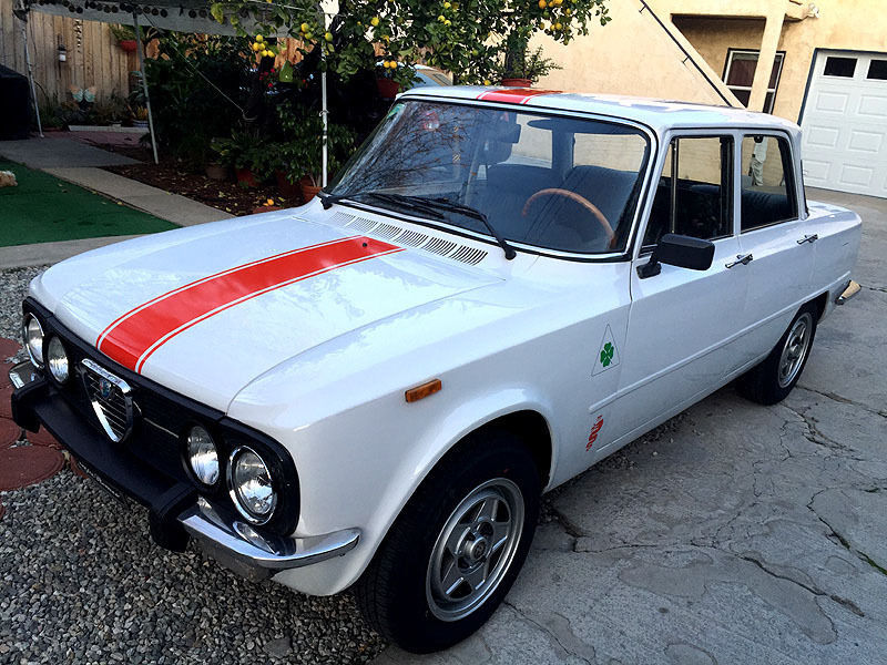 1974 Alfa Romeo Giulia Nuova Super 1300 Excellent