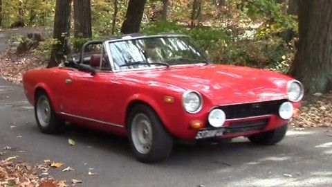 1979 Fiat Spider 2000 for sale
