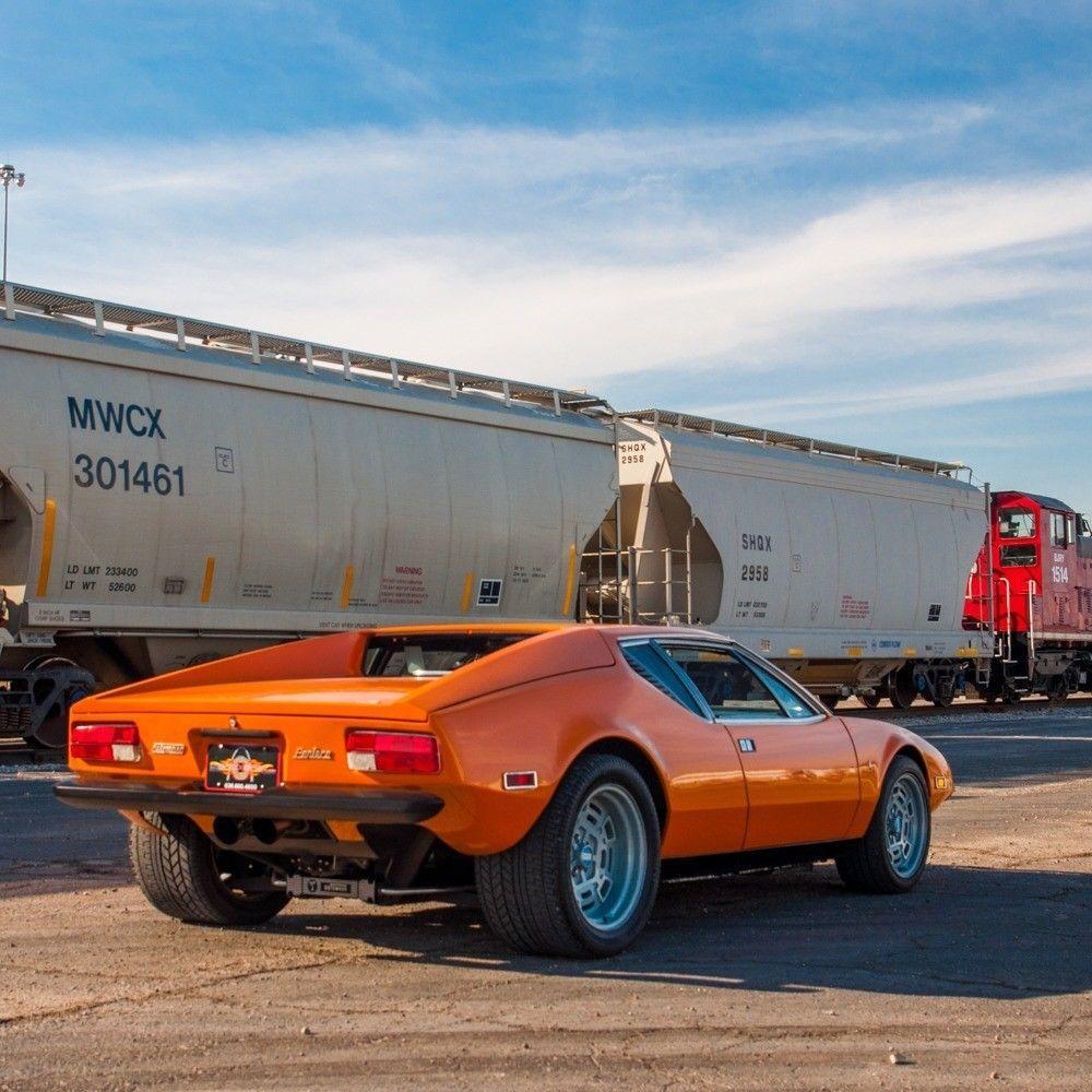 GREAT 1973 De Tomaso Pantera Ghia