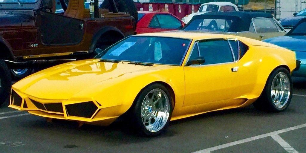 AMAZING 1973 De Tomaso Group 4 Targa convertible