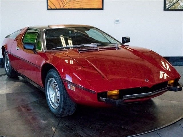 AMAZING 1973 Maserati Bora