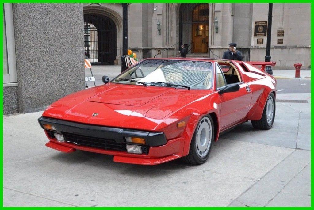 BEAUTIFUL 1984 Lamborghini Jalpa