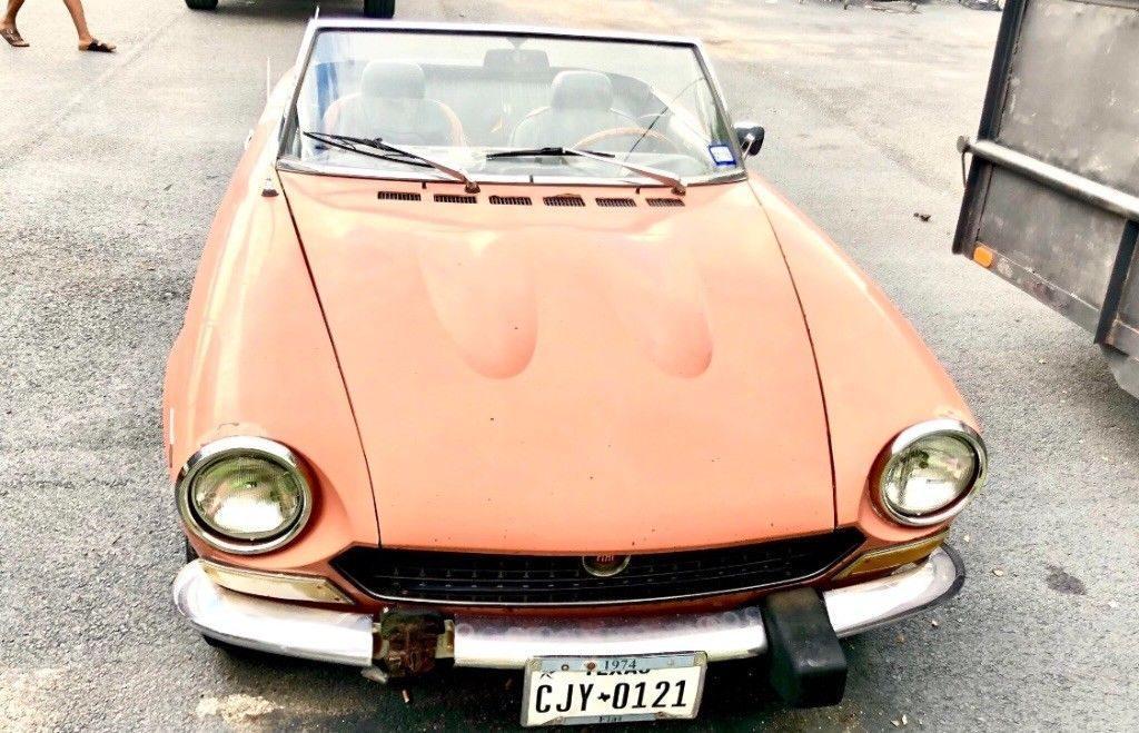 1974 Fiat 124 Spider in good condition