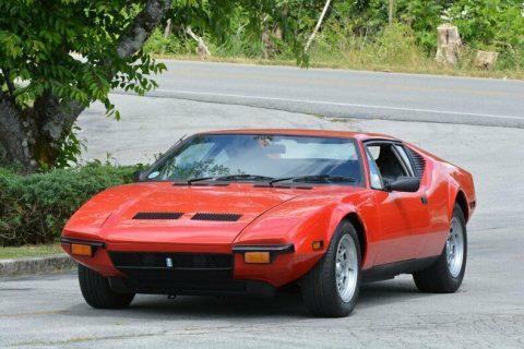 1972 De Tomaso Pantera for sale