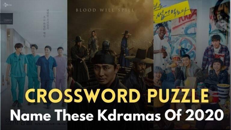 [Crossword Puzzle] Name These Korean Dramas Of 2020