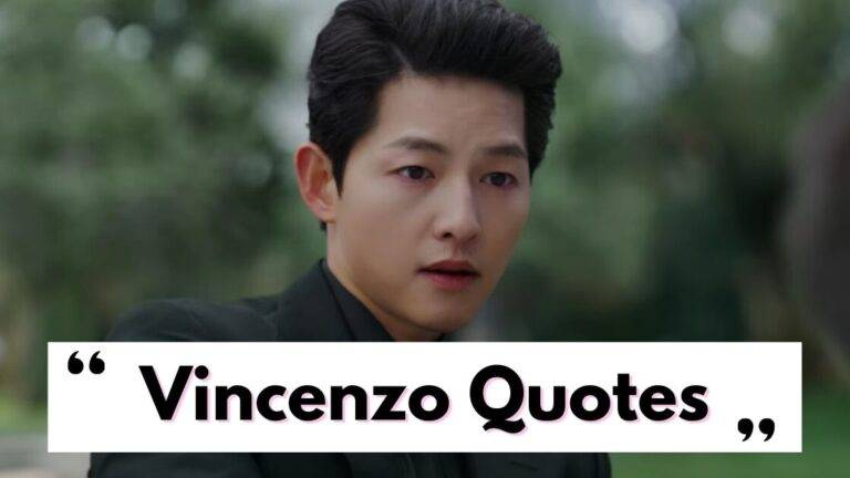 Vincenzo Quotes To Read | Best Quotes From Vincenzo Drama
