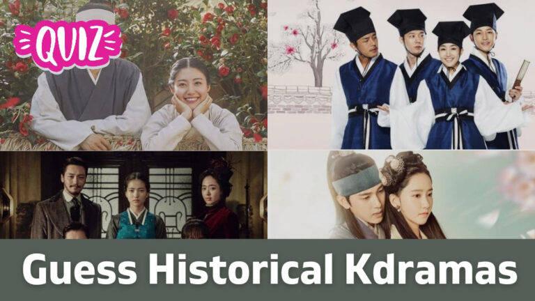[Kdrama Quiz] Guess Historical Dramas Based On Storyline