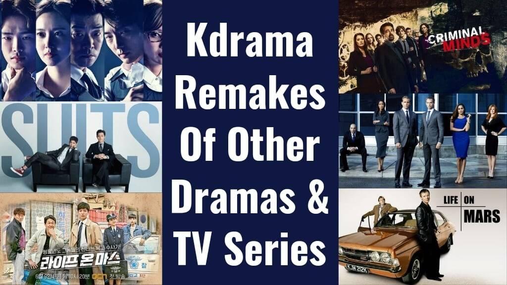 Korean Drama Remakes Of Other Series