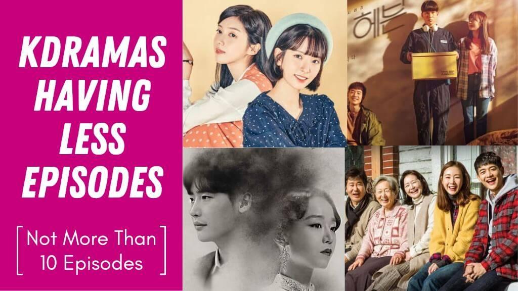Korean Dramas Having Less Episodes