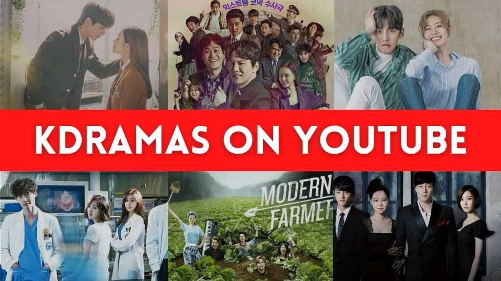 korean dramas on youtube
