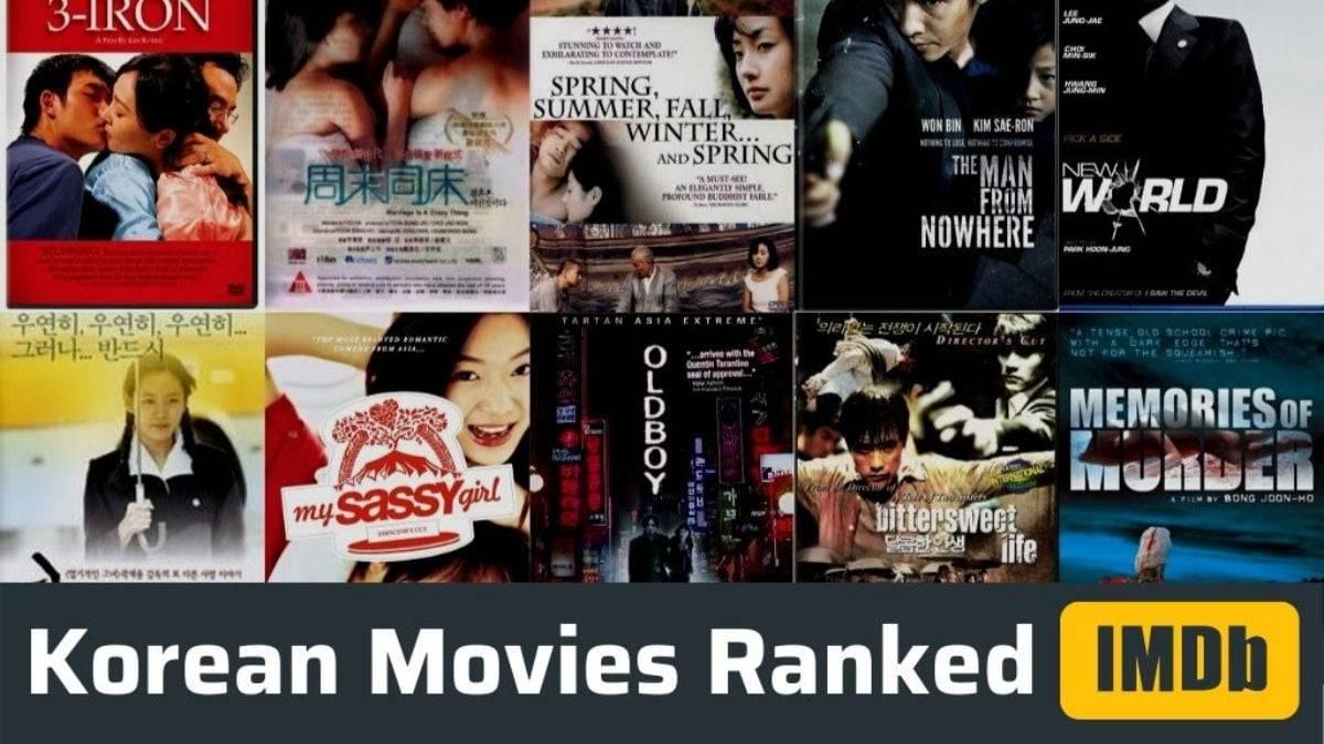 Highest rated Korean movies imdb ranked