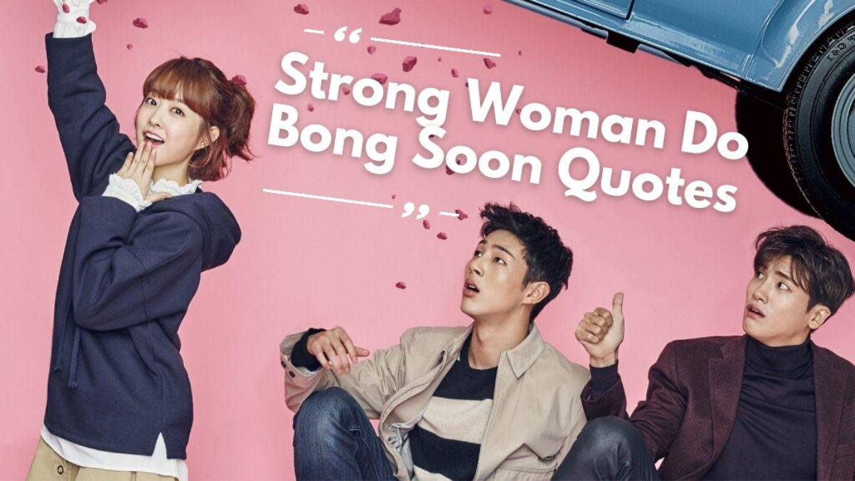 Strong woman do bong soon quotes