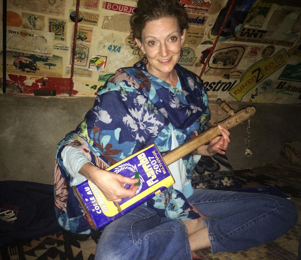 Homemade Moroccan Guitar