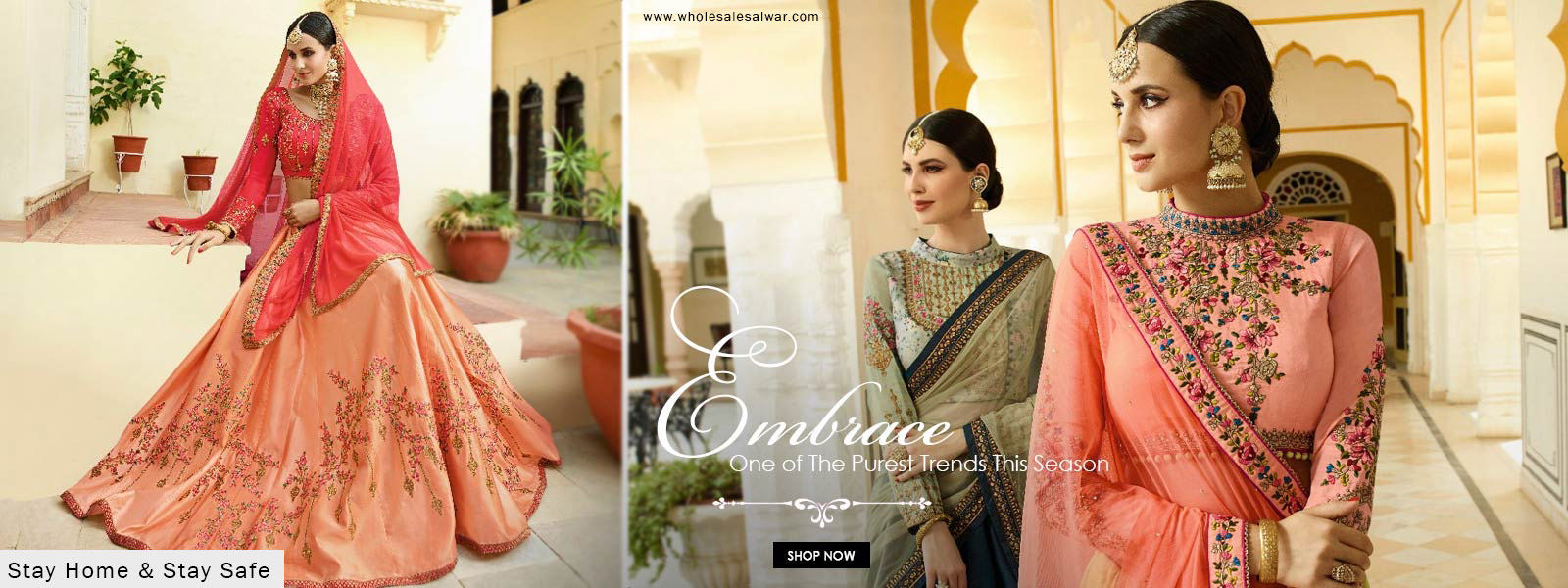 Wholesale Salwar Kameez Readymade Branded Ladies Suits Indian