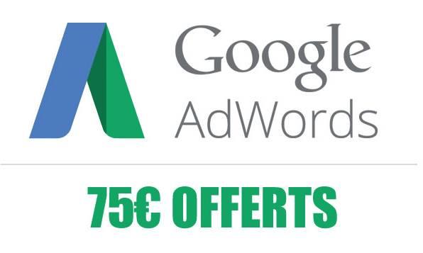 Code de promotion AdWords