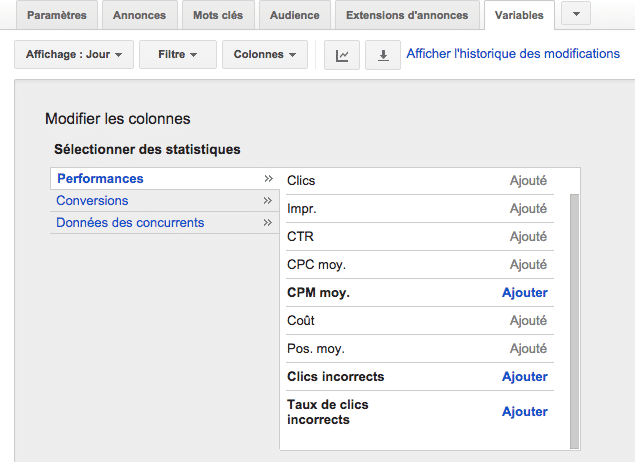 Analyse des clics incorrects sur Google AdWords Clickoo