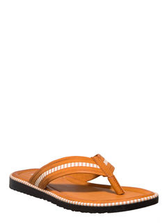 Khadim's Tan Casual Outdoor Slipper