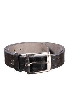 Khadim's Black Casual Leather Belt