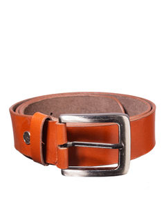 Khadim's Tan Formal Leather Belt