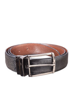 Khadim's Multicolour Office Leather Belt